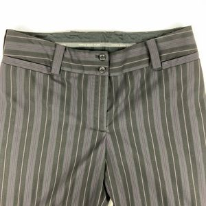 Express Correspondent Striped Career Pants 10